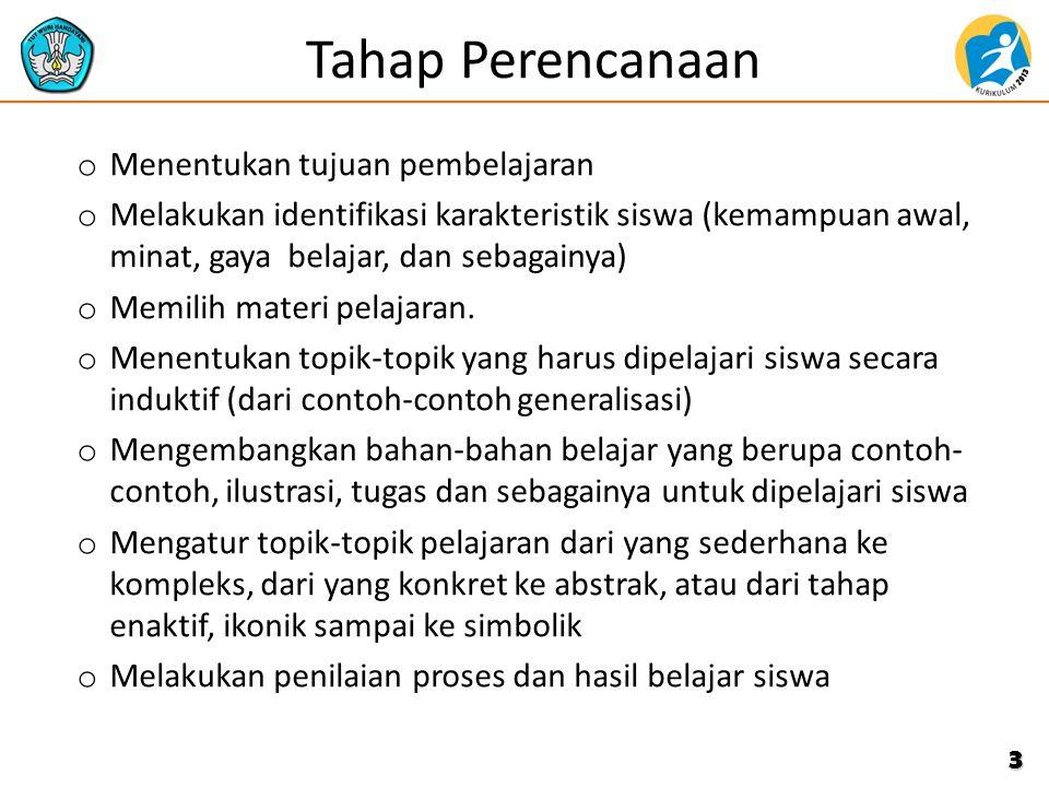 Langkah-langkah PBL 4 TAHAP PELAKSANAANPEMBELAJARAN 1.