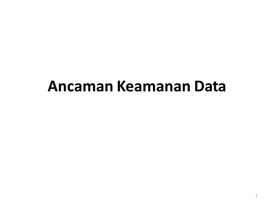 Ancaman Keamanan Data 1