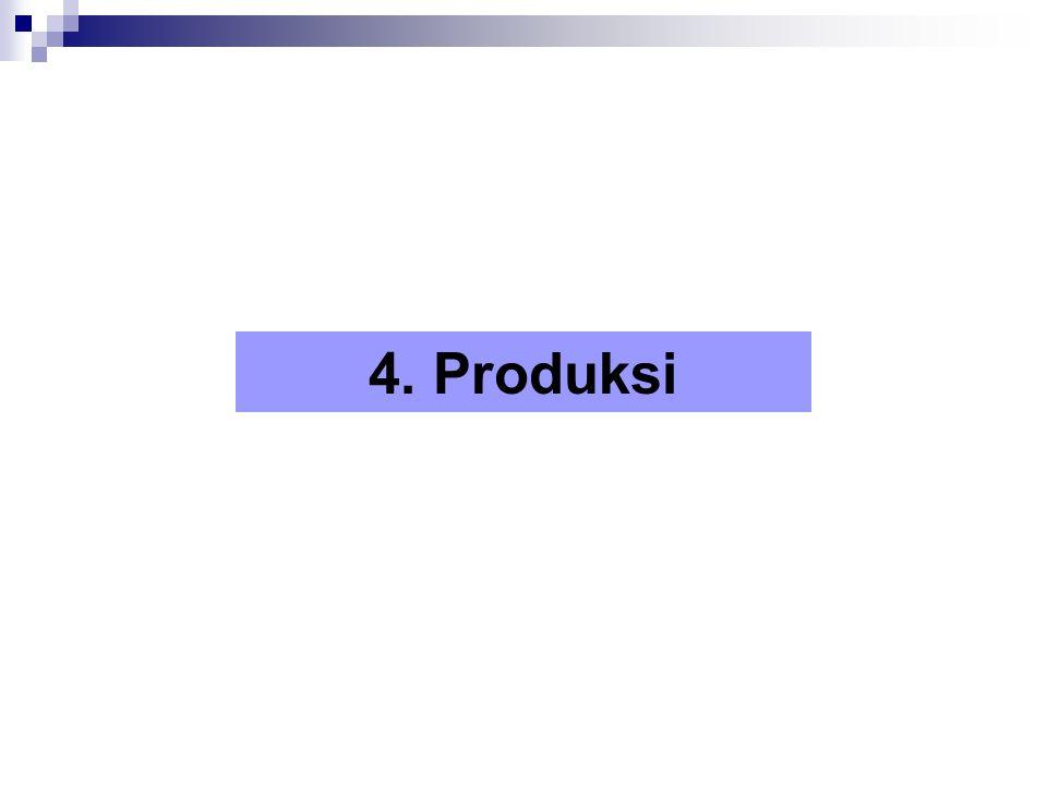 4. Produksi