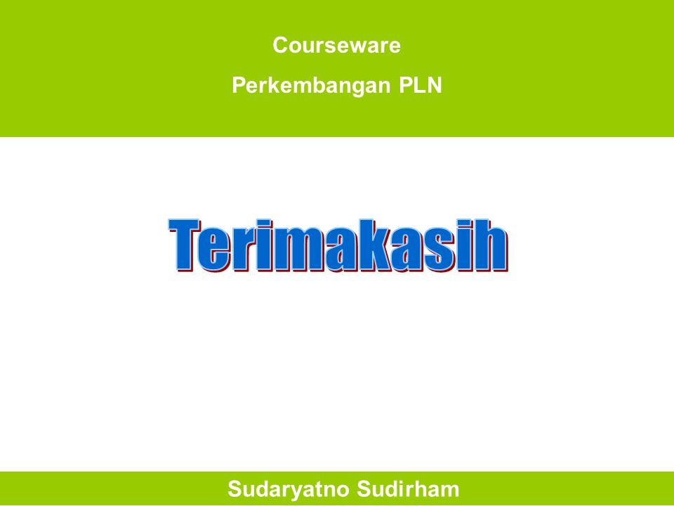 Courseware Perkembangan PLN Sudaryatno Sudirham