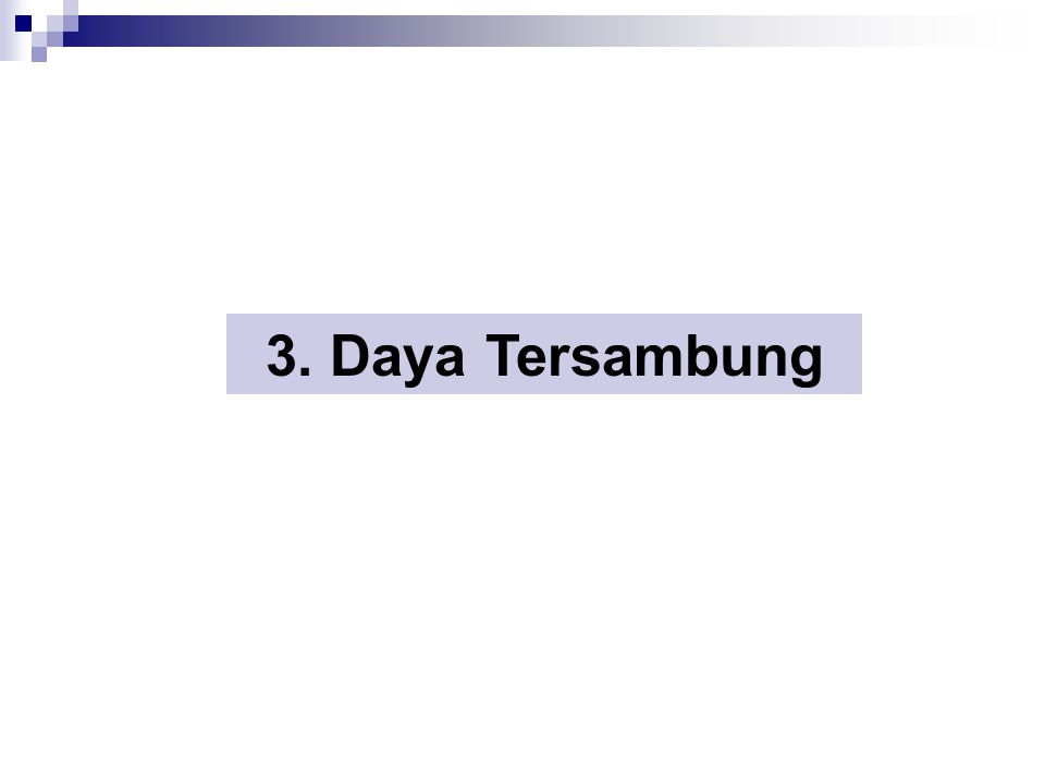 3. Daya Tersambung