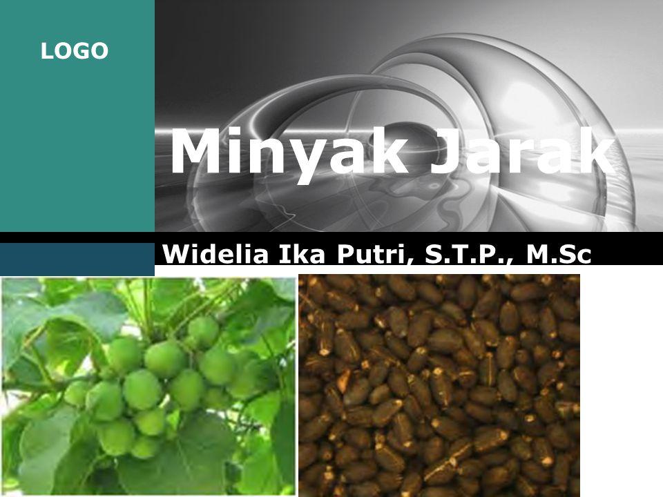 LOGO Minyak Jarak Widelia Ika Putri, S.T.P., M.Sc
