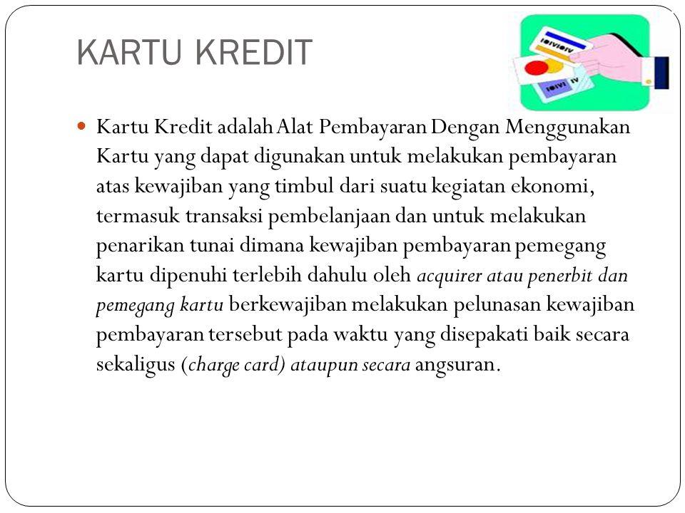 Landasan hukum kartu kredit Pasal 6 huruf 1 Undang-Undang Nomor 7 Tahun 1992 sebagaimana telah diubah dengan Undang-Undang Nomor 10 Tahun 1998 Tentang Perbankan Keputusan Menteri Keuangan Nomor 1251/KMK.