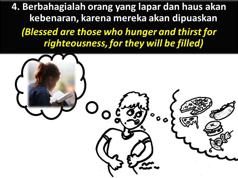Apa hubungan antara 'miskin di hadapan Allah', 'berdukacita' dan 'lemah lembut'.