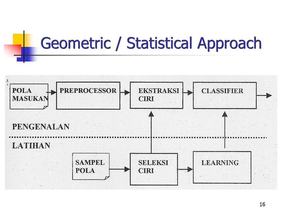 16 Geometric / Statistical Approach