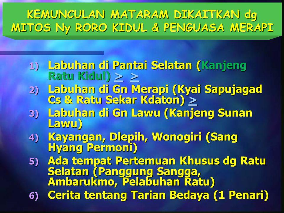 Senopati berkuasa 13 tahun (1588 – 1601):  Kuasai Jawa Tengah dan sebagian Jawa Timur  Walau secara militer berhasil, beliau tidak mendapat pengakuan dari penguasa-penguasa lain  Menunjuk Mas Jolang (P.