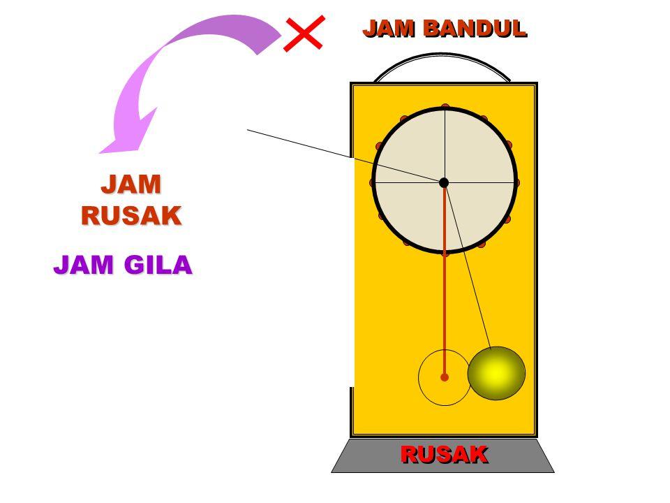 JAM RUSAK JAM GILA JAM BANDUL RUSAK