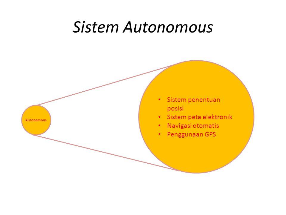 Fleet Management Mengelola kendaraan dari pusat pengontrol Pusat pengontrol memberikan informasi kepada pengendara, seperti cuaca, kendaraan lalu lintas, dll Fleet Management