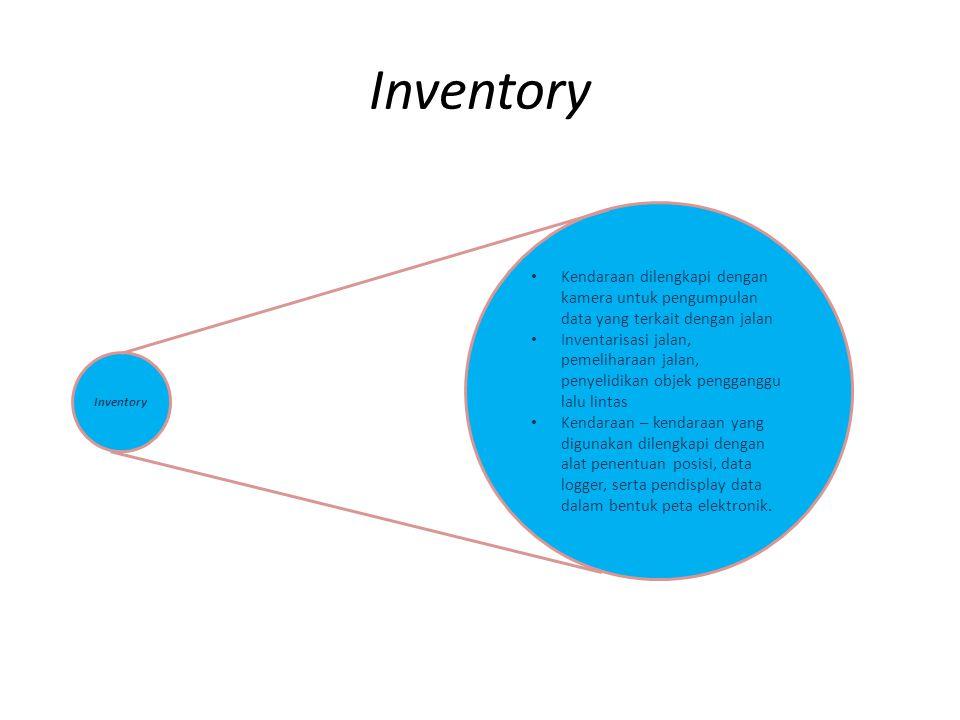 Inventory Kendaraan dilengkapi dengan kamera untuk pengumpulan data yang terkait dengan jalan Inventarisasi jalan, pemeliharaan jalan, penyelidikan ob