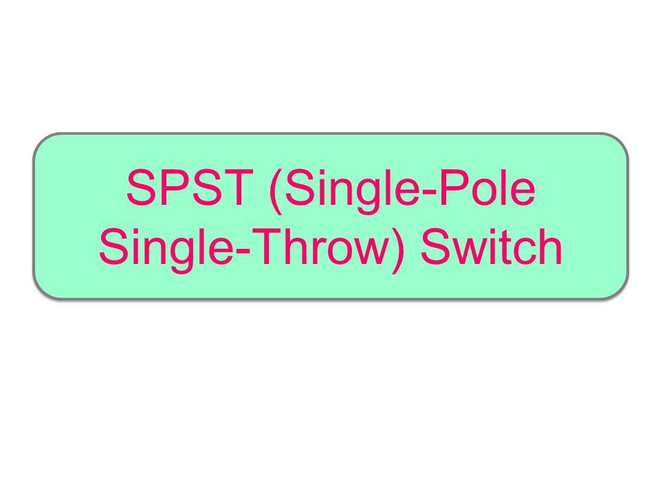 SPDT Micro Switch Contoh penggunaan SPDT micro switch adalah sebagai saklar keselamatan (safety switch) yang menghindarkan dan mencegah peguna dari sengatan listrik yang tak perlu terjadi dan menahan arus listrik terus-menerus mengalir ketika tak diperlukan.