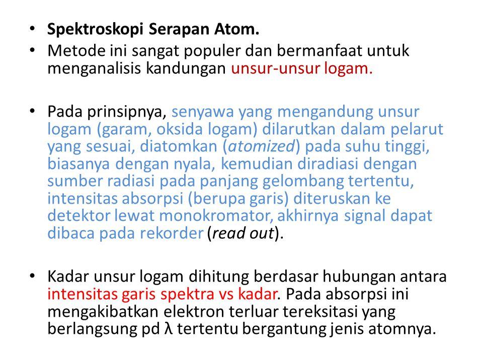 Catatan Jumlah atom tereksitasi sangat bergantung pada suhu.