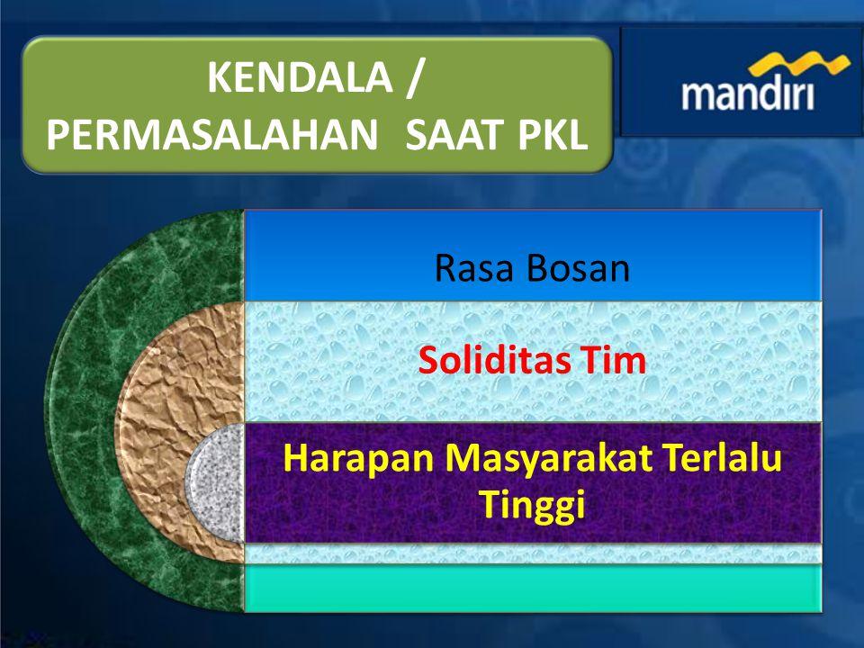 KREDIT PROGRAM KEMITRAAN PT.BANK MANDIRI (PERSERO) Tbk.