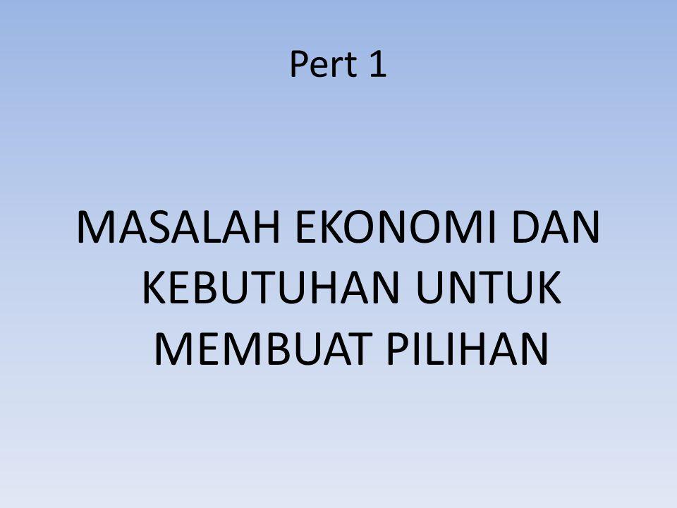 Ekonomi Deskriptif Bidang ilmu ekonomi ini adalah analisis ekonomi yang menggambarkan keadaan yang sebenarnya ada dalam perekonomian.