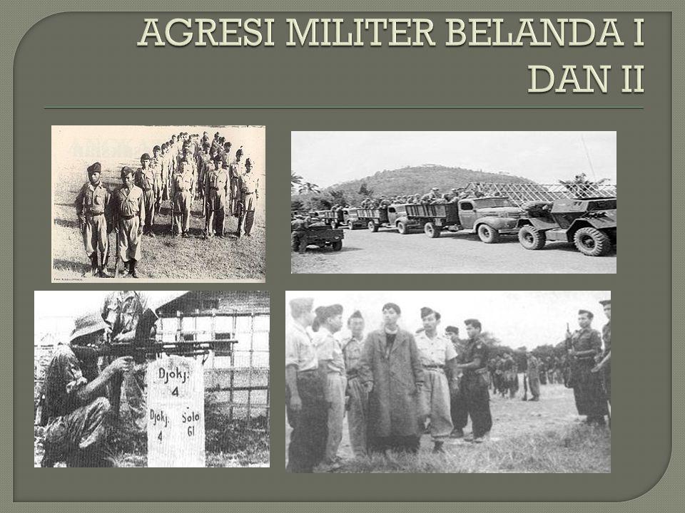  Berdirinya negara boneka Buatan Belanda (BFO/Bijjenkomst voor Federal Overleg))  Pemberontakan PKI Madiun  Pemberontakan DI/TII Jawa Barat  Pemba