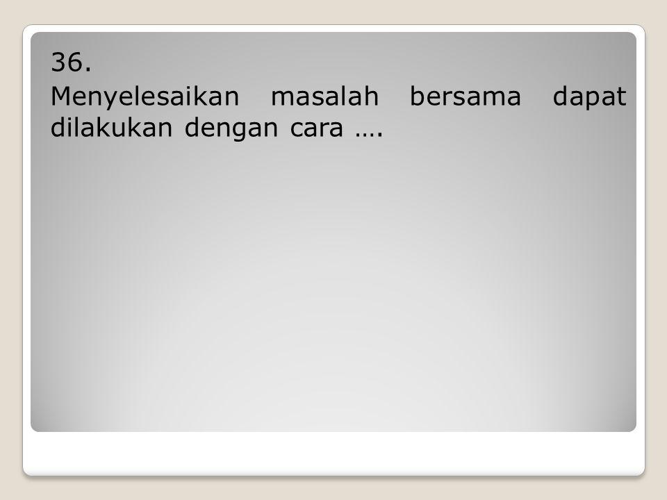 """35. Tokoh di bawah ini yang mendapat julukan """"Bapak Koperasi Indonesia"""" bernama …."""