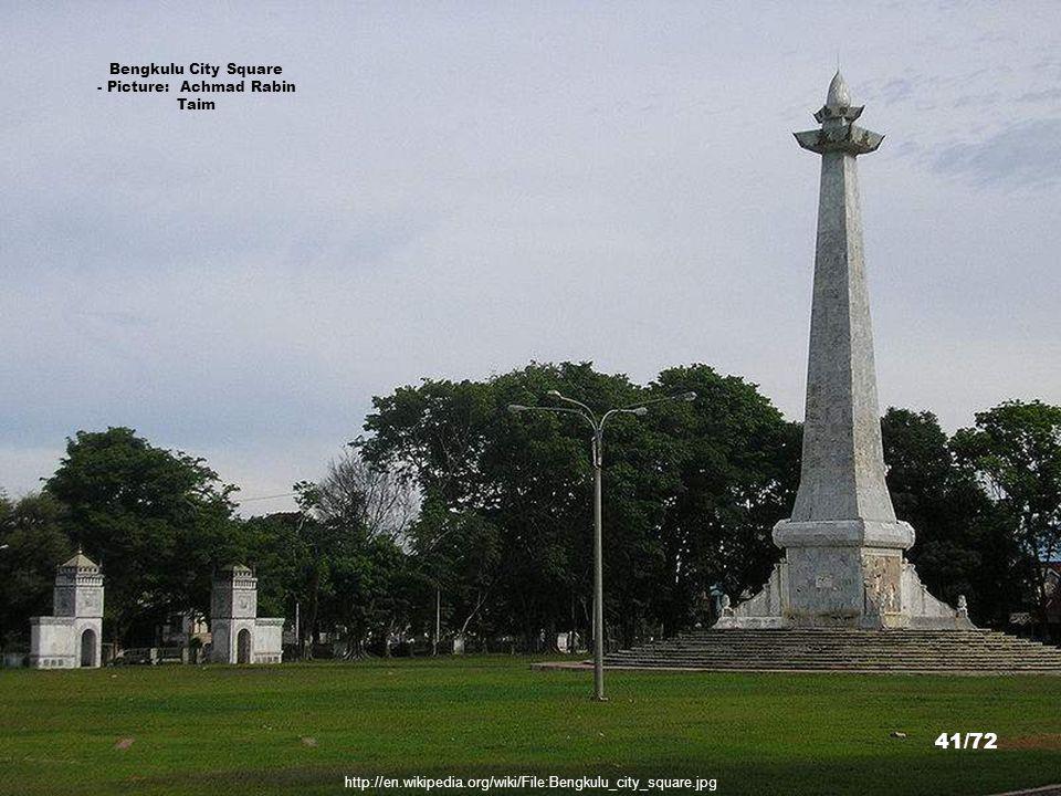 http://commons.wikimedia.org/wiki/File:Masjid_Agung.jpg Mesjid Agung, Bengkulu - Picture: Ridho Nur Imansyah 40/72