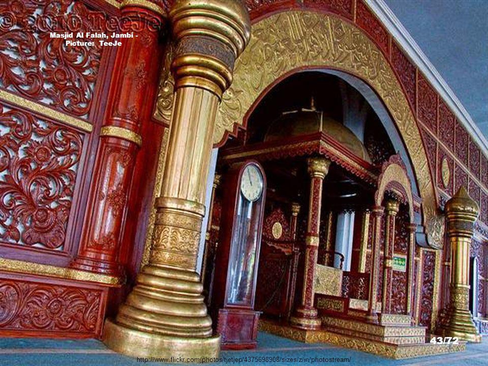 http://www.flickr.com/photos/tjetjep/4370642230/ Masjid Al Falah, Jambi - Picture: TeeJe 42/72