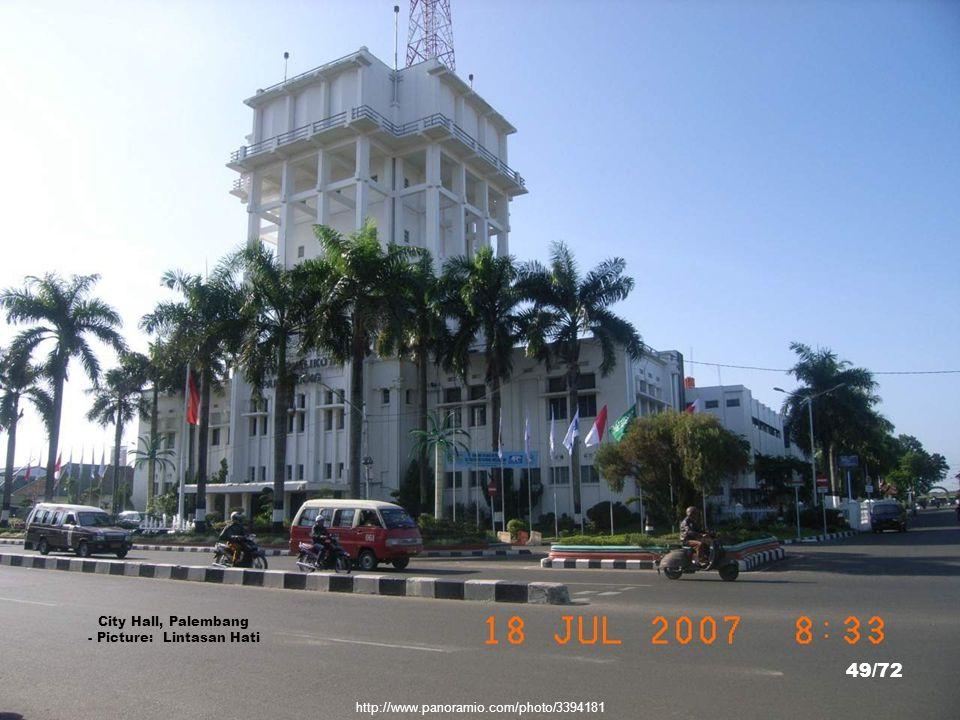 Griya Agung, Gubernur Sumatera Selatan, Palembang - Picture: Soga Soegiarto 48/72 http://www.panoramio.com/photo/40175445