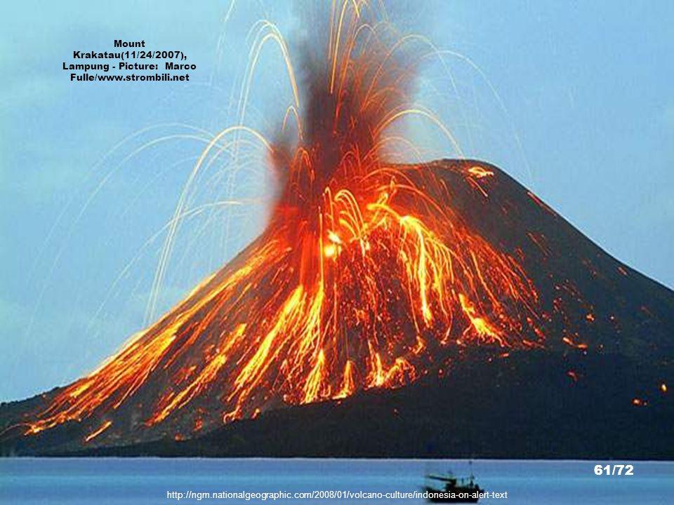 http://i.imagefra.me/456cjt5 Mount Krakatau, Lampung - Picture: Imageframe 60/72