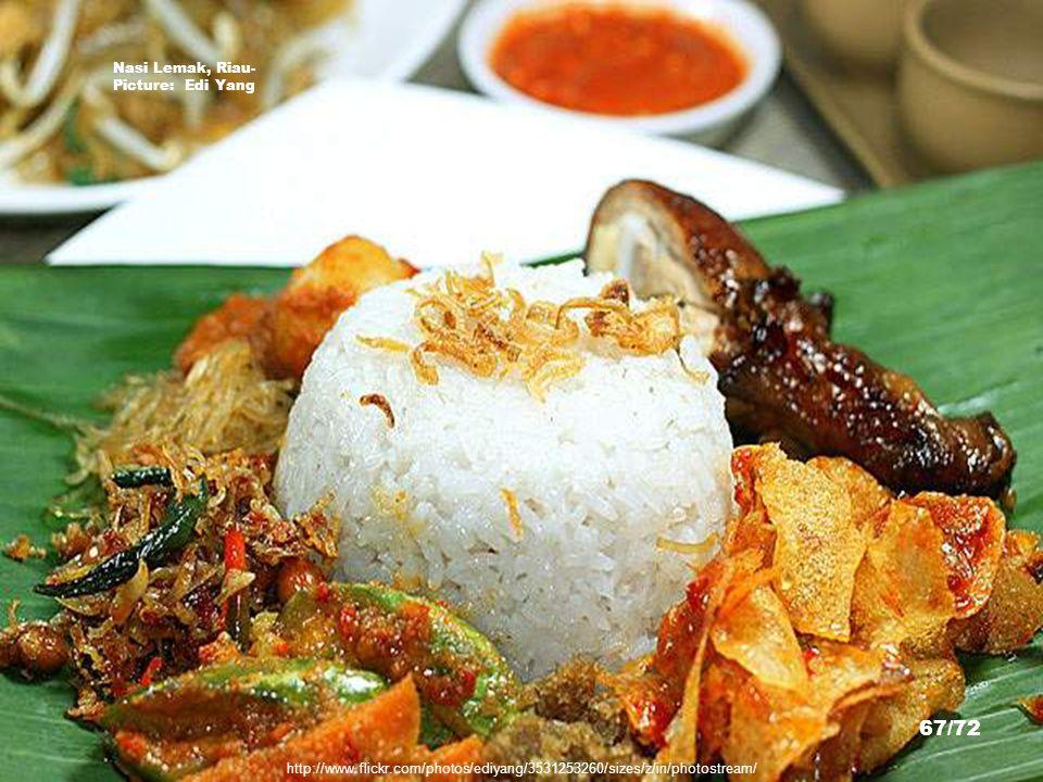 http://www.riauinfo.com/main/news.php?c=8&id=9822 Asam Pedas dan Onde-Onde, Masakan Khas Riau - Picture: 66/72