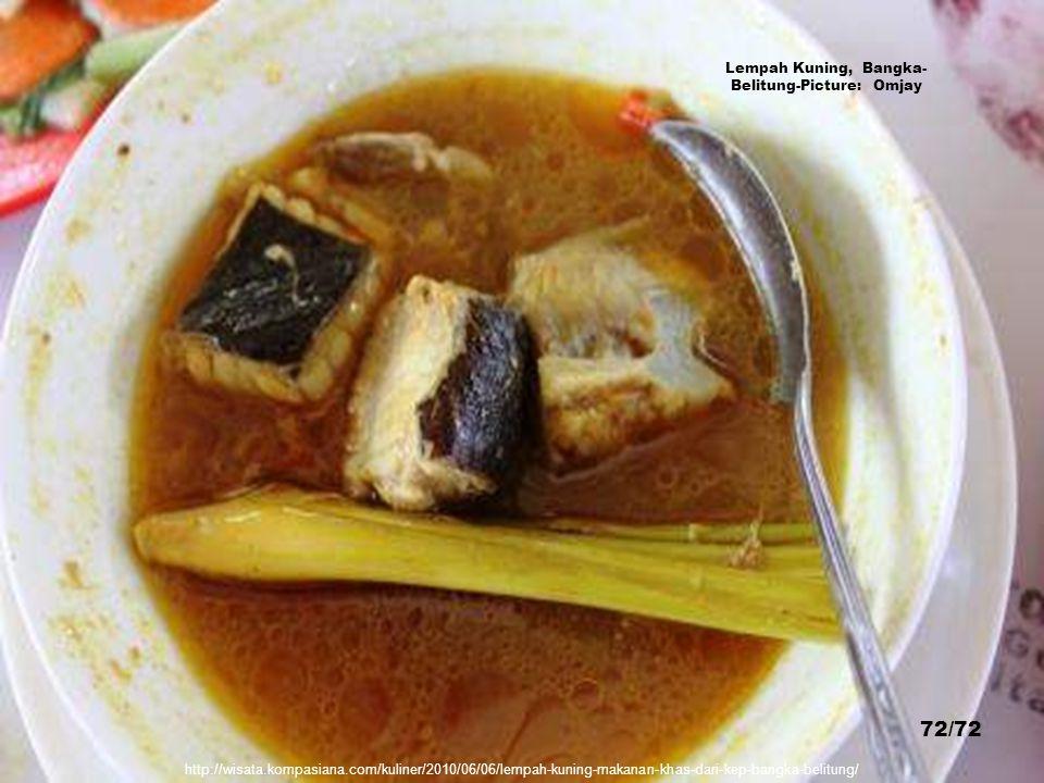http://yodoblusukan.files.wordpress.com/2010/03/tahu-kok-wp1.jpg Tahu Kok or Tewfu Kok, Bangka-Belitung - Picture: Budi 'Jajanpasar' 71/72