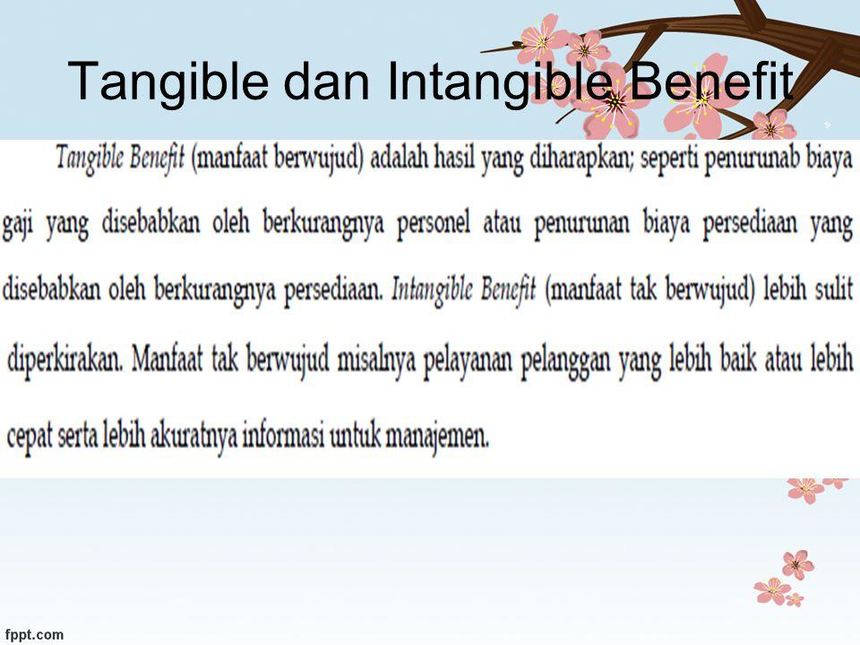 Tangible dan Intangible Benefit