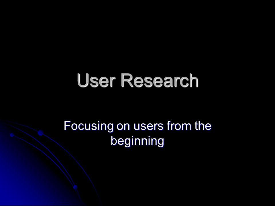 User-Centered Design A. Fokus pada siapa (user) yang akan menggunakan sistem B. User melakukan pengecekan pada tahapan pembuatan prototipe dan memberi