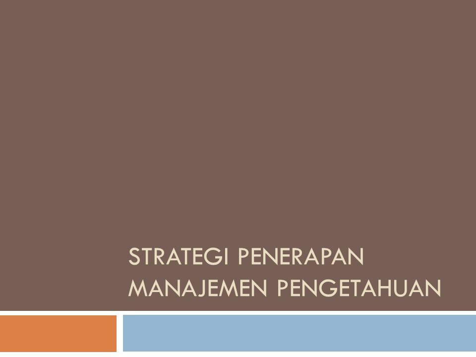  Tim audit harus juga mengidentifikasi paling tidak 5 sumberdaya kunci pengetahuan yang seharusnya organisasi miliki.