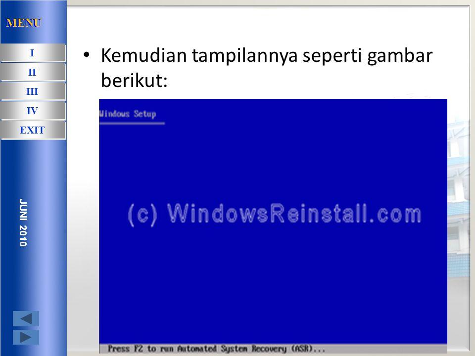 Instalasi Window XP pada PC yang yang belum ada OS-nya Untuk memulai meng-install Window XP, langkah pertama adalah mengatur fist boot pada bios.