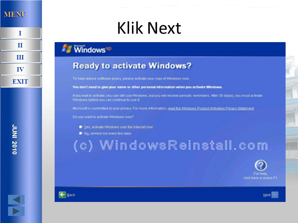 Aktivasi windows bisa lewat telp atau juga conect langsung ke internet.