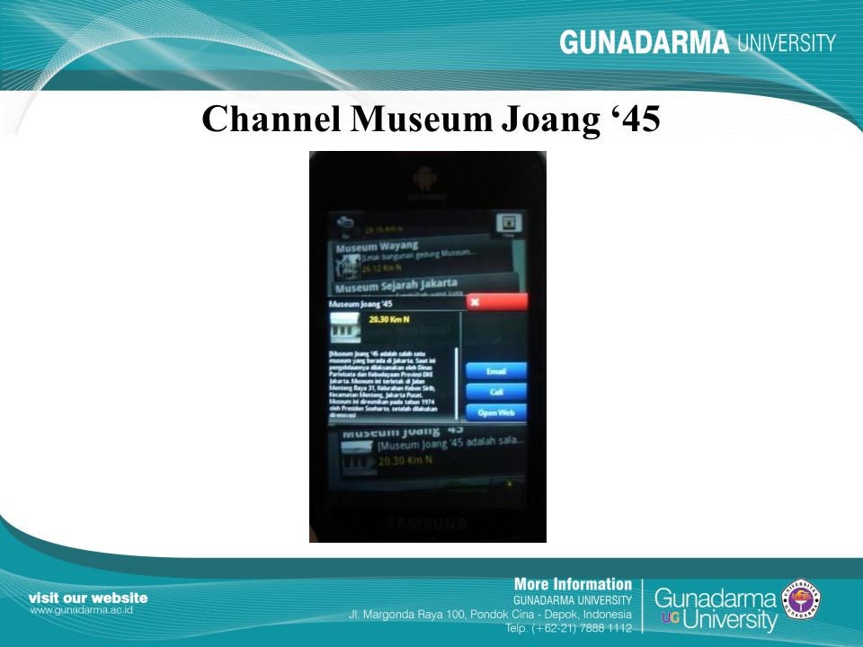 Channel Museum Joang '45