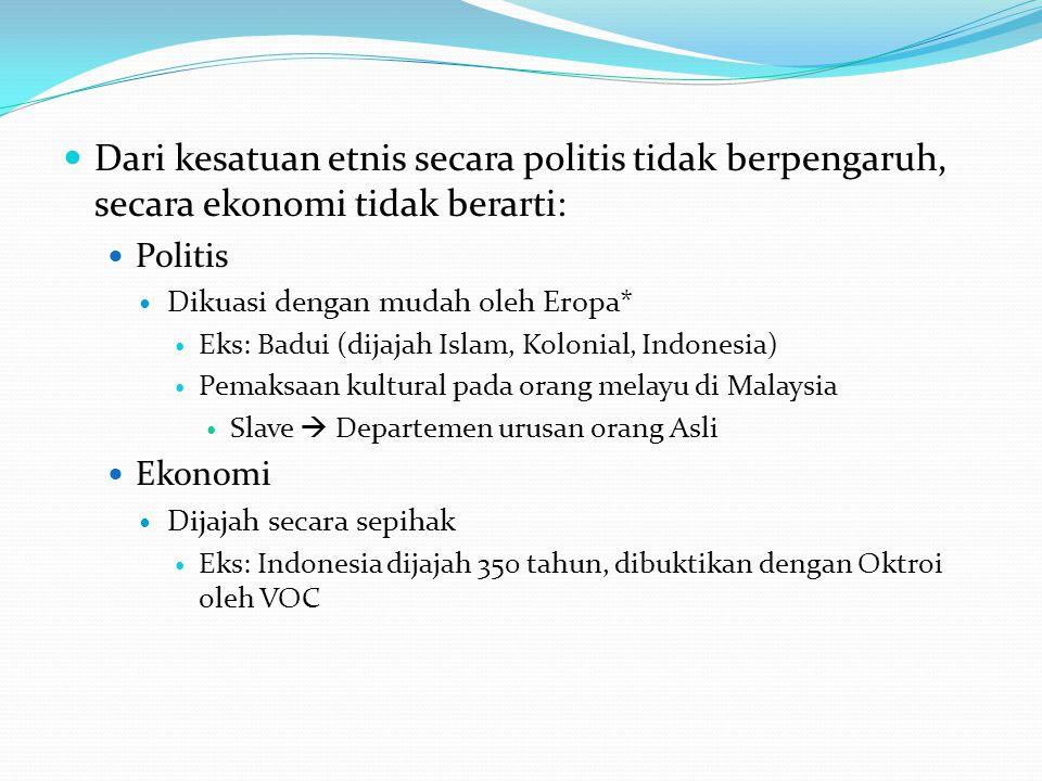 Bagaimana bentuk kultur asli Asia Tenggara.