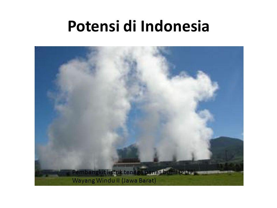 Potensi di Indonesia Pembangkit listrik tenaga panas bumi (PLTP) Wayang Windu II (Jawa Barat)