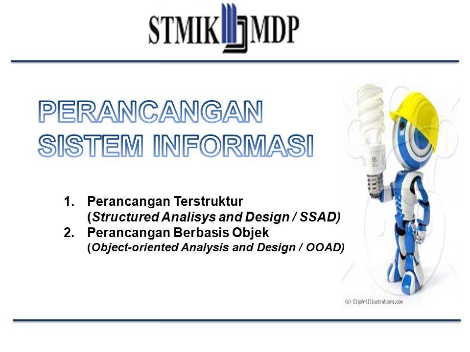 Perancangan Sistem Informasi STMIK GI MDP Kekurangan Pendekatan Terstruktur SSAD berorientasi utama pada proses, sehingga mengabaikan kebutuhan non-fungsional.