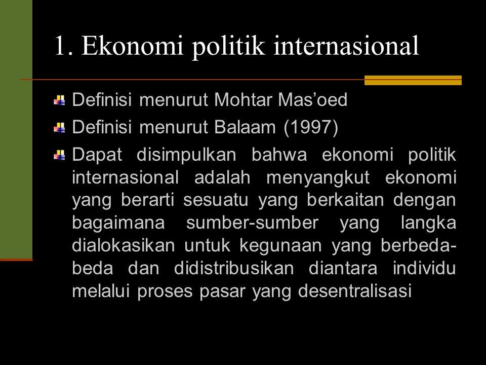 Rumusan Masalah 1. ekonomi politik Apa pengertian ekonomi politik internasional? 2. Bagaimana kondisi internasional saat ini? 3. Apa itu G20 ? 4. Apa