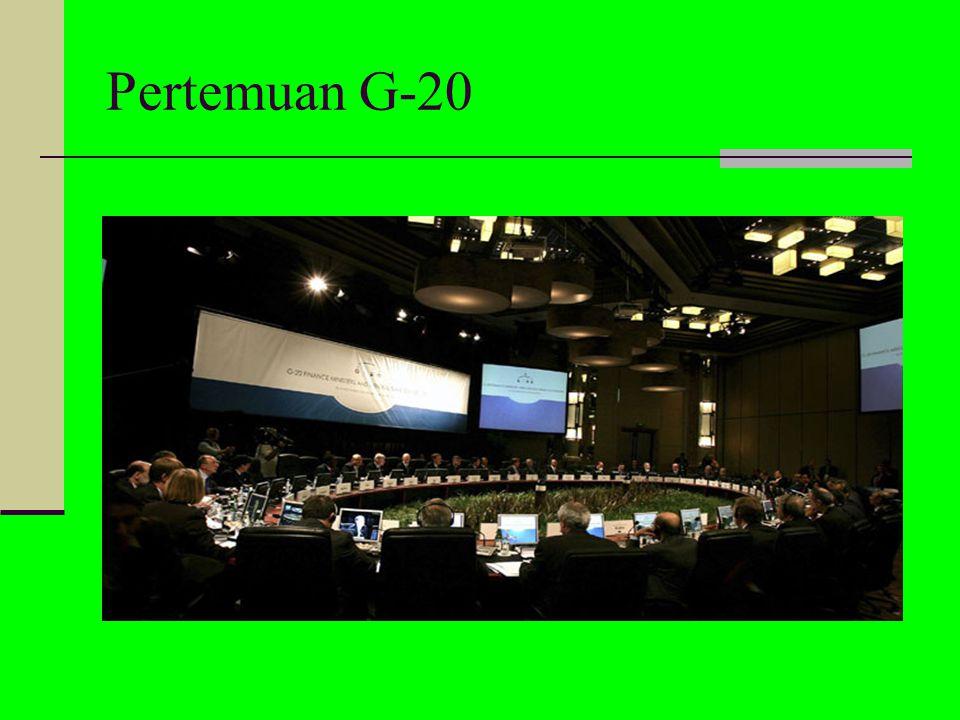 Kondisi perekonomian Indonesia pra-pertemuan G20 Diadakannya JPSK (jaring sistem pengaman keuangan) Tujuan utama JPSK Sasaran JPSK UU JPSK terdiri dar