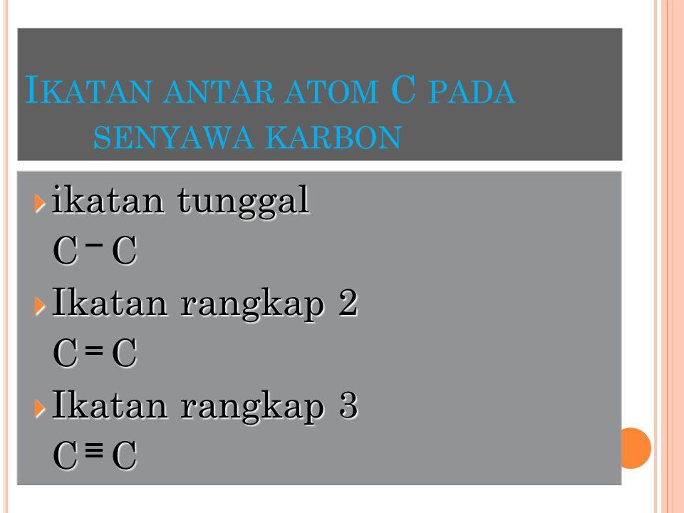 C ONTOH :  CH 3 CH 2 C CH 2 CH CH 3 CH 3 CH 8 Primer Tersier Kuartener CH 3 Sekunder