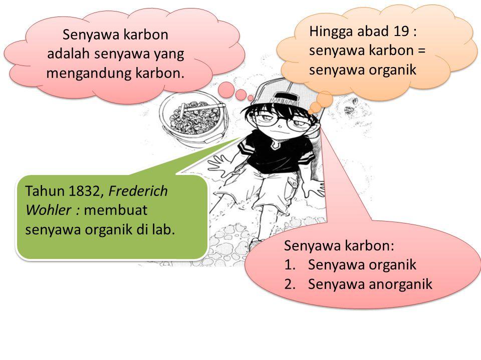 Senyawa karbon: 1.Senyawa organik 2.Senyawa anorganik Senyawa karbon: 1.Senyawa organik 2.Senyawa anorganik Senyawa karbon adalah senyawa yang mengandung karbon.