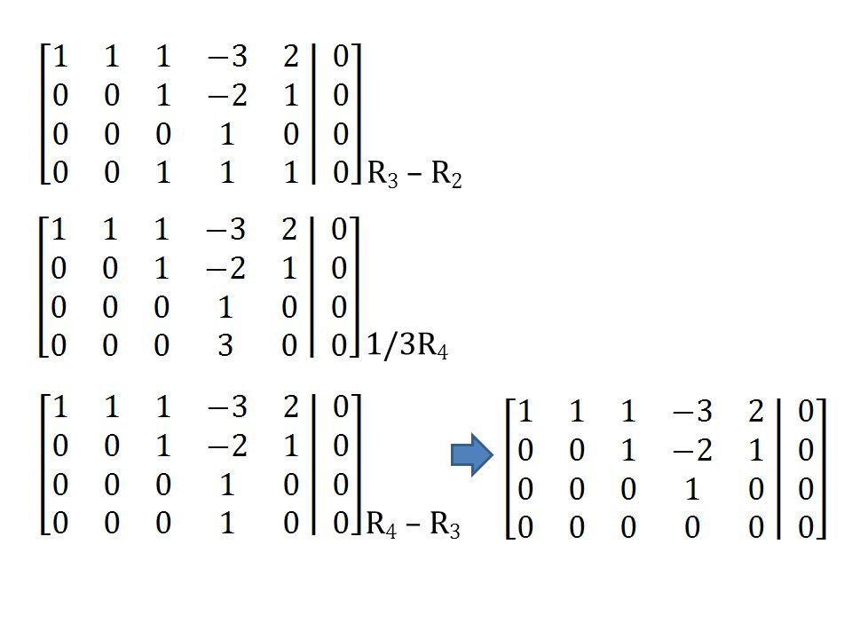 1/3R 4 R 4 – R 3
