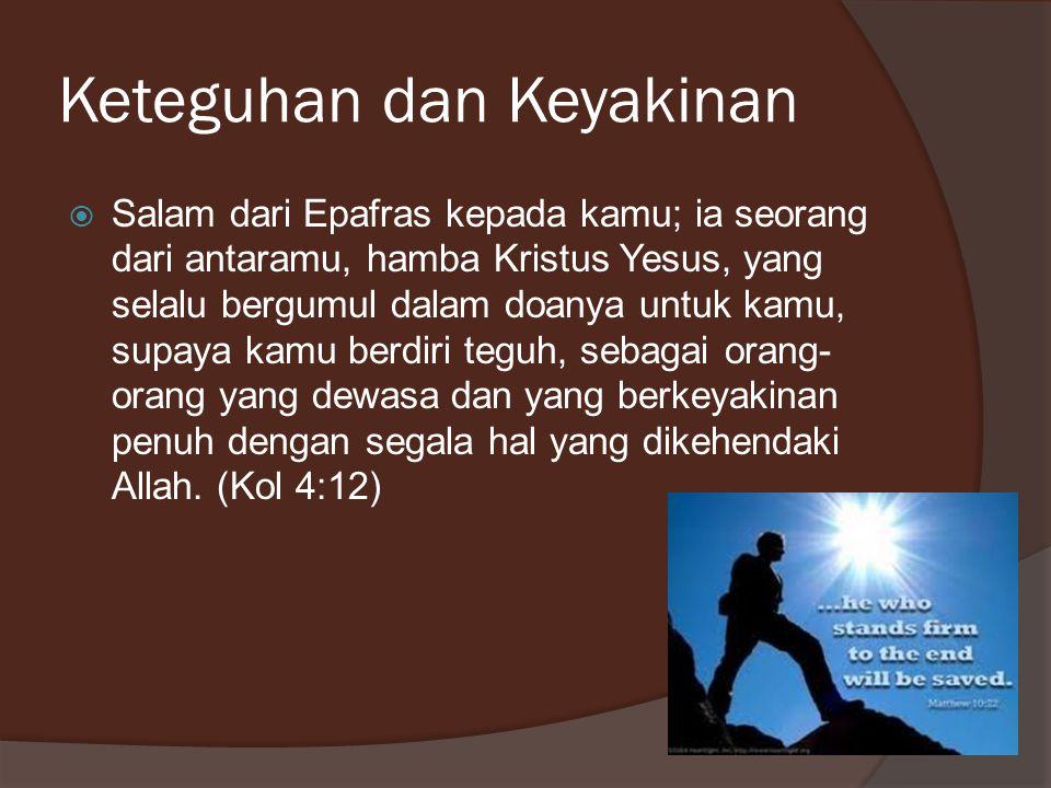 Kedekatan  Dan aku, saudara-saudara, pada waktu itu tidak dapat berbicara dengan kamu seperti dengan manusia rohani, tetapi hanya dengan manusia duniawi, yang belum dewasa dalam Kristus.