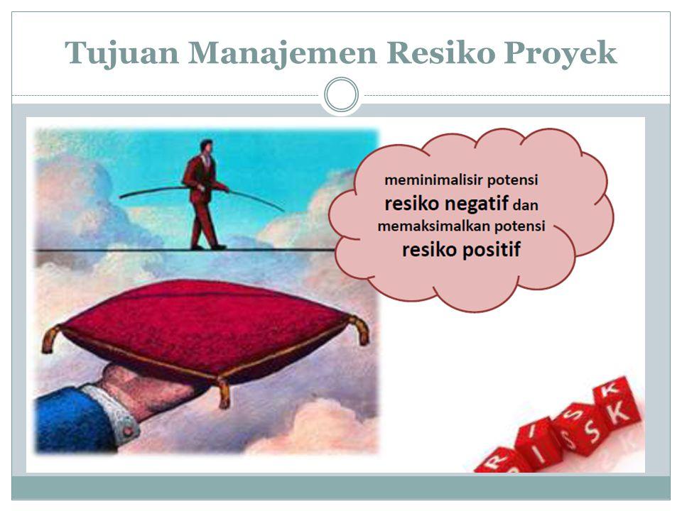  Quantitative risk analysis: Estimasi secara numerik efek daripada risiko pada tujuan proyek.