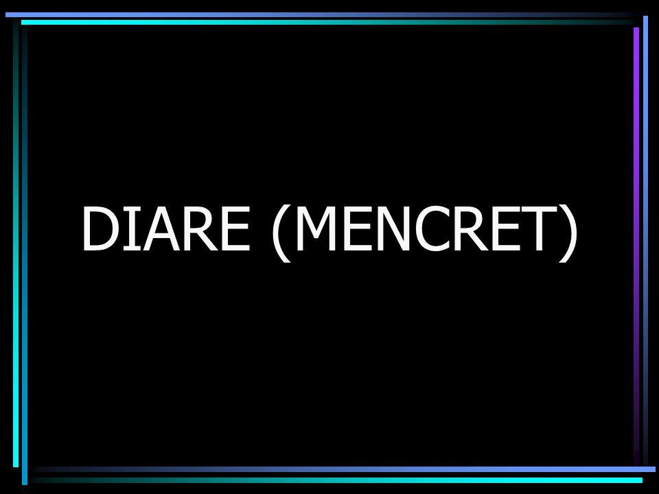 DIARE (MENCRET)