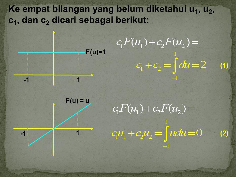 Definisi sebelumnya generalisasi dengan kasus-kasus di mana salah satu titik akhir dari interval integrasi adalah tak terhingga negatif atau titik singular dari fungsi yang terkandung dalam interval integrasi.