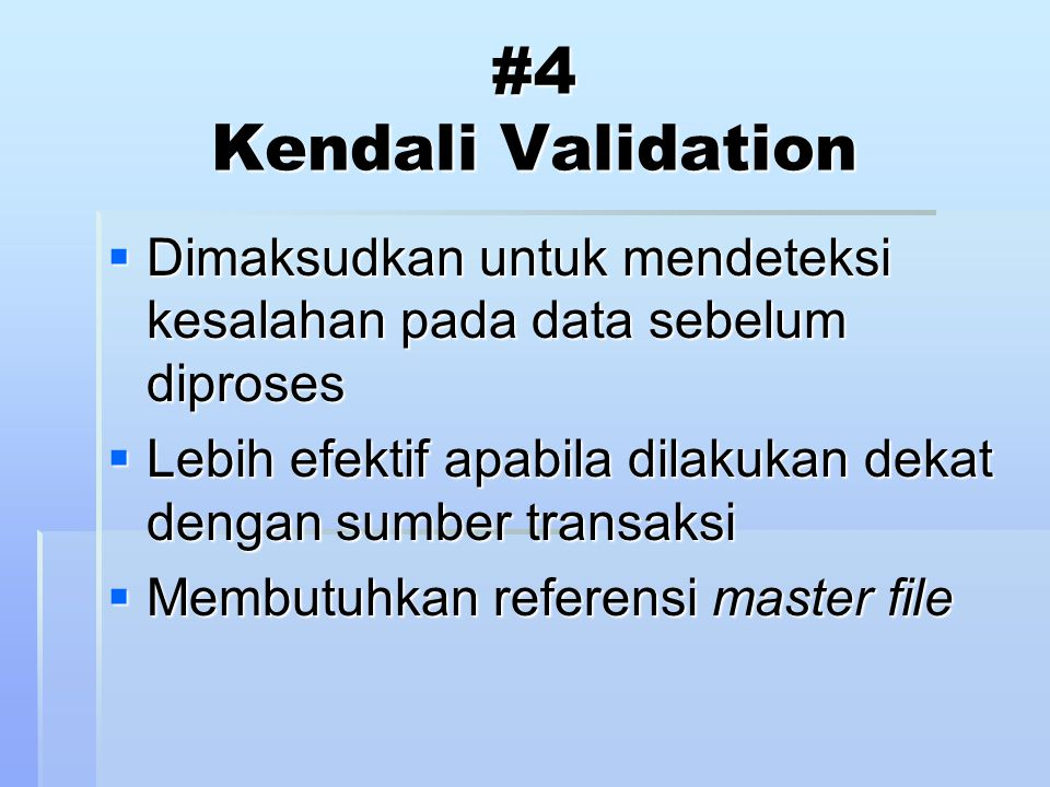 TABK terdiri dari : 1.Program pemeriksaan umum (Generalized audit software -GAS) 2.