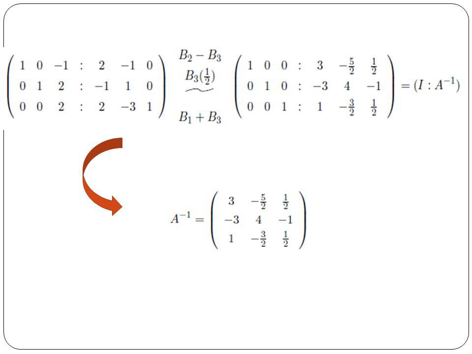 SOAL LATIHAN………….. Buktikan bahwa (Ca) T = a T C T