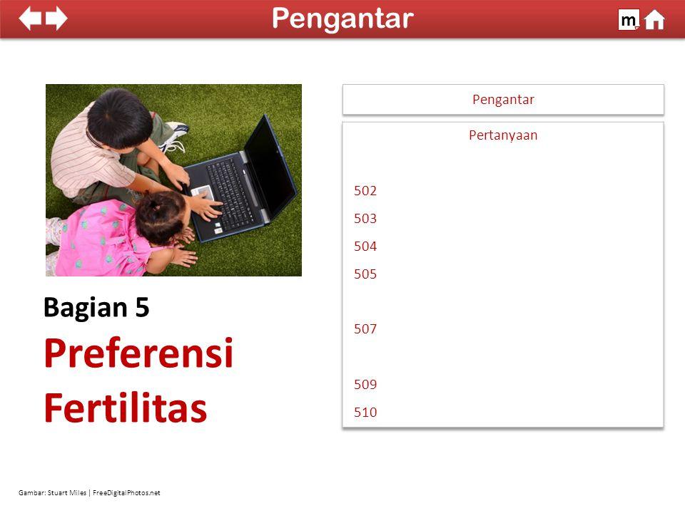 100% SDKI 2012 Tujuan: Mengumpulkan keterangan mengenai rencana kelahiran dan KB Pengantar m Buku Pedoman PK hal.