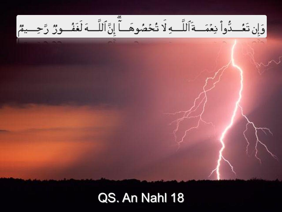 QS. An Nahl 18 QS. An Nahl 18