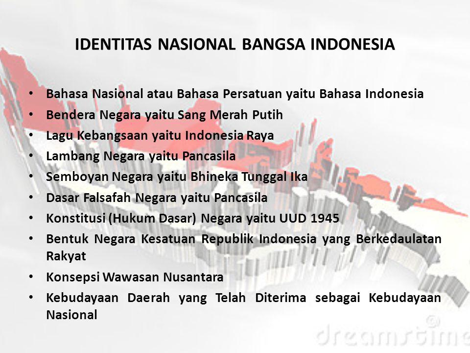 PANCASILA SEBAGAI KEPRIBADIAN DAN IDENTITAS NASIONAL Pancasila sebagai dasar filsafat bangsa dan Negara Indonesia pada hakikatnya bersumber kepada nil