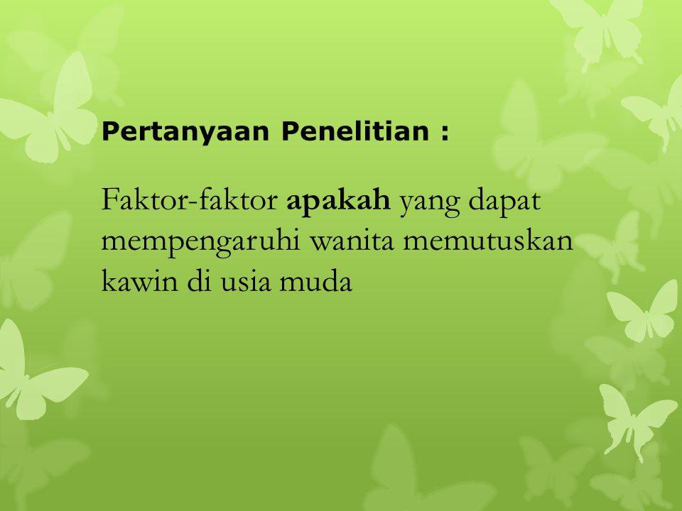 Secara Umum : Mengetahui faktor-faktor yang mempengaruhi UKP di Kalimantan Selatan (18.6), Kalimantan Barat, Sulawesi Tengah (19.5), dan Nusa Tenggara Barat (19.5).