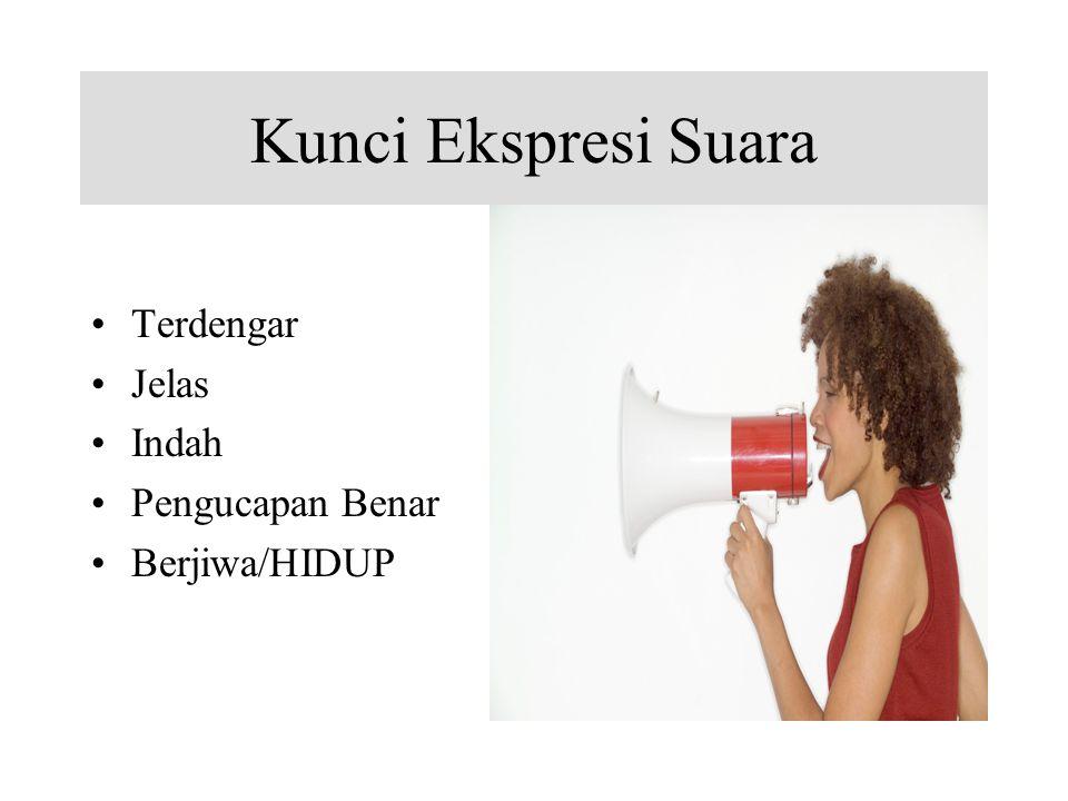 Kunci Ekspresi Suara Terdengar Jelas Indah Pengucapan Benar Berjiwa/HIDUP